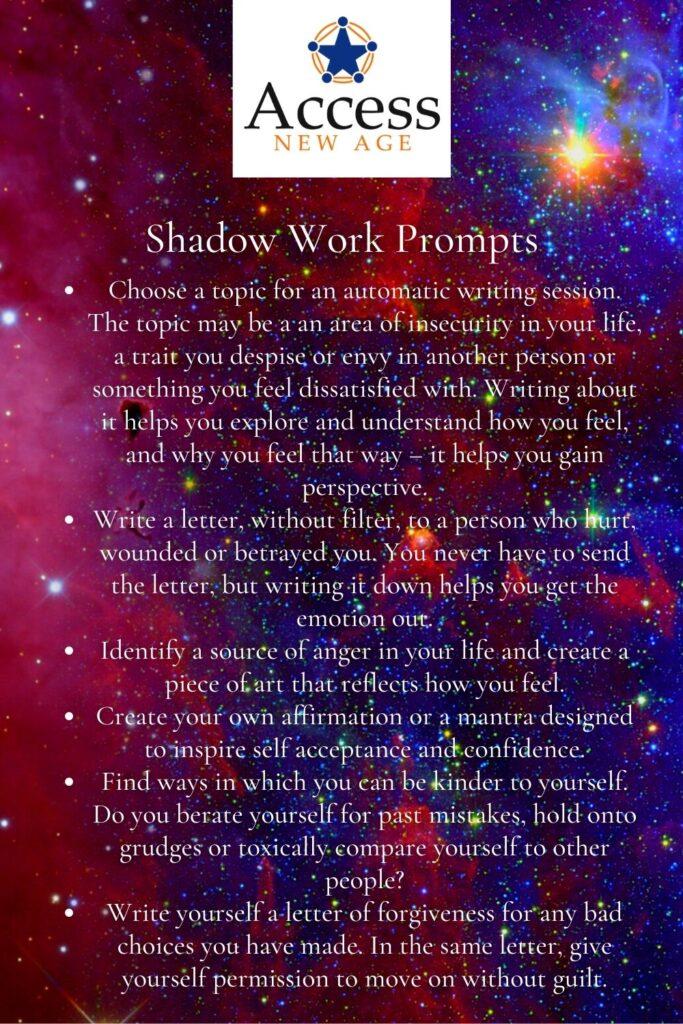 shadow work prompts